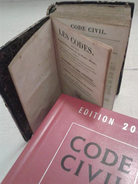 Ancien code et code civil